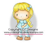 CC Designs - Swiss Pixie Collection - Cling Mounted Rubber Stamps - Goldie