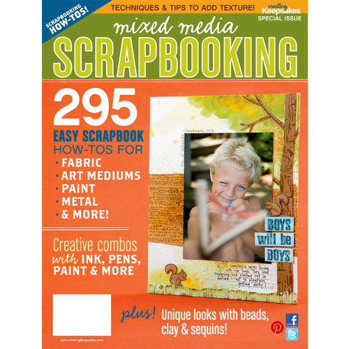 Creating Keepsakes - Mixed Media Scrapbooking
