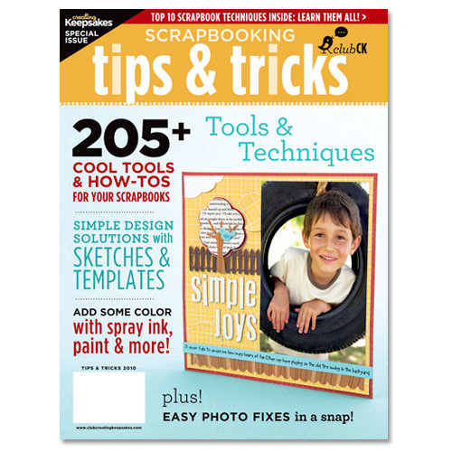 Creating Keepsakes - Scrapbooking Tips and Tricks