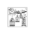 The Crafter's Workshop - 6 x 6 Doodling Templates - Mini Birds of a Feather