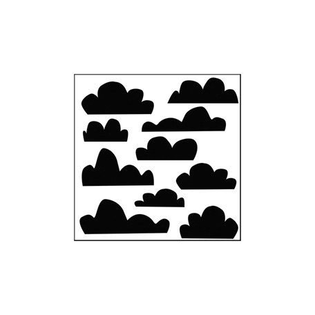 The Crafter's Workshop - 6 x 6 Doodling Templates - Mini Clouds