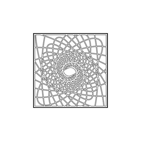The Crafter's Workshop - 6 x 6 Doodling Templates - Mini Spirographica