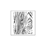 The Crafter's Workshop - 6 x 6 Doodling Templates - Mini Wood Grain