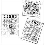 The Crafter's Workshop - 12 x 12 Doodling Templates - Bingo