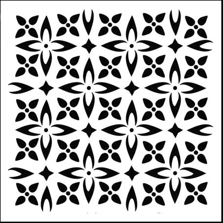 The Crafter's Workshop - 12 x 12 Doodling Templates - Flower Piecing
