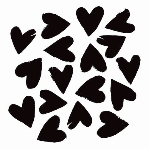 The Crafter's Workshop - 6 x 6 Doodling Templates - Mini Spilled Hearts