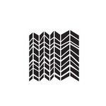 The Crafter's Workshop - 6 x 6 Doodling Templates - Mini Chunky Chevron