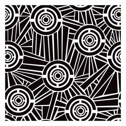 The Crafter's Workshop - 12 x 12 Doodling Templates - Aboriginal