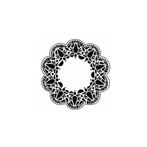 The Crafter's Workshop - 6 x 6 Doodling Templates - Mini Deco Doily