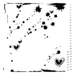 The Crafter's Workshop - 12 x 12 Doodling Template - Confetti