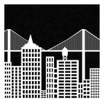 The Crafter's Workshop - 12 x 12 Doodling Template - Cityscape