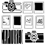 The Crafter's Workshop - 6 x 6 Doodling Template - Mini Captured