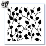 The Crafter's Workshop - 6 x 6 Doodling Template - Climbing Vine Reversed