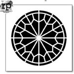 The Crafter's Workshop - 6 x 6 Doodling Template - Rose Window