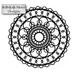 The Crafter's Workshop - 6 x 6 Doodling Template - Ring Doily
