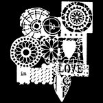 The Crafter's Workshop - 6 x 6 Doodling Templates - Mini Be In Love