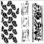 The Crafter's Workshop - 6 x 6 Doodling Templates - Mini Chlorophyll