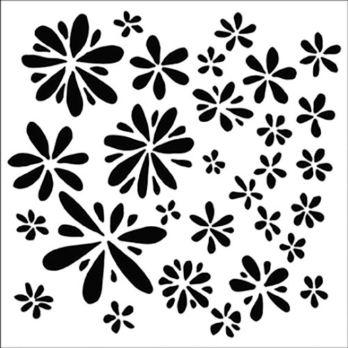 The Crafter's Workshop - 6 x 6 Doodling Templates - Mini Daisy Splash