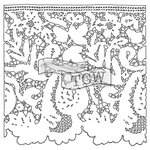 The Crafters Workshop - 12 x 12 Doodling Templates - Lace