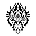 The Crafters Workshop - 12 x 12 Doodling Templates - Elegant Motif