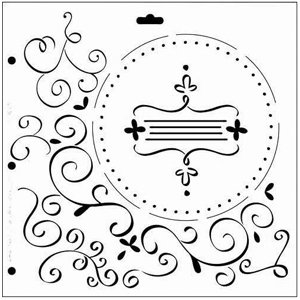 The Crafter's Workshop - 12x12 Doodling Templates - Regal Flourish, CLEARANCE