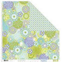 Collage Press - Doubletake - Double-Sided Paper - Fresh Collection - Fresh Blooms, CLEARANCE