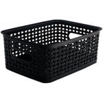 Storage Studios - Bin - Weave - Small - Black