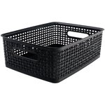 Storage Studios - Bin - Weave - Medium - Black