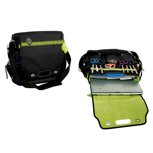 Advantus - All My Memories - Tote-Ally Cool Tote 4 - Shoulderbag - Green Apple and Black