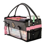 All My Memories - Tote-Ally Cool Tote 7 - Caddy - Pink and Grey