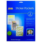 Cropper Hopper - Sticker Pockets - 3 Envelopes