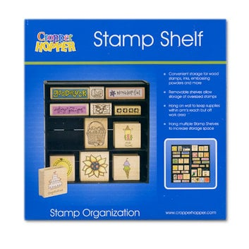 Cropper Hopper - Stamp Shelf - Stamp Organization