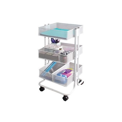 Advantus - Storage Studios - Craft Cart with Dividers - White