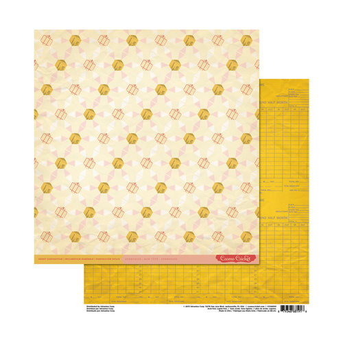 Cosmo Cricket - Sweet Disposition Collection - 12 x 12 Double Sided Paper - Sunnyside