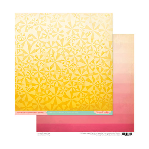 Cosmo Cricket - Summer Love Collection - 12 x 12 Double Sided Paper - Sun Kissed