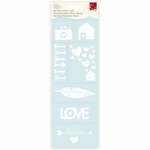 Cosmo Cricket - Be Clear Labels - Love