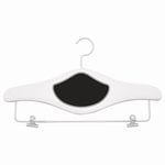 Cosmo Cricket - Wooden Project Hanger - White