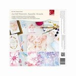 Advantus - Cosmo Cricket - Watercolor Collection - 8 x 8 Paper Deck