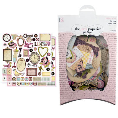 The Girls Paperie - Paper Girl Collection - Die Cuts - Paper Girl