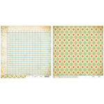 Advantus - The Girls Paperie - On Holiday Collection - 12 x 12 Double Sided Paper - Vintage Travel