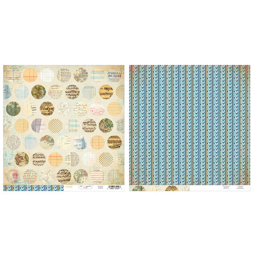 Advantus - The Girls Paperie - On Holiday Collection - 12 x 12 Double Sided Paper - Mixed Dot
