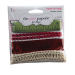The Girls Paperie - Tinsel and Twig Collection - Christmas - Ribbon Trims - Market