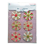 The Girls Paperie - Tinsel and Twig Collection - Christmas - Paper Flowers