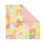 The Girls Paperie - Jubilee Collection - 12 x 12 Double Sided Paper - Picnic Blanket