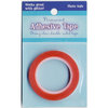 Advantus - Sulyn Industries - Vintage and Sparkle Glitter - Red Liner Tape - 1/4 Inch x 5 Yards