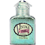 Advantus - Sulyn Industries - Vintage and Sparkle Glitter - Aqua Follies