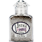 Advantus - Sulyn Industries - Vintage and Sparkle Glitter - Silver Screen