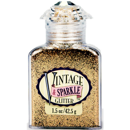 Advantus - Sulyn Industries - Vintage and Sparkle Glitter - Golden Era