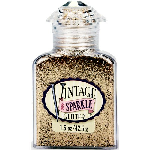 Advantus - Sulyn Industries - Vintage and Sparkle Glitter - Silk Champagne