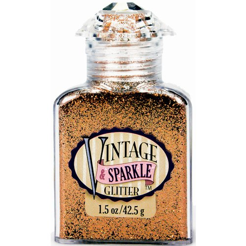 Advantus - Sulyn Industries - Vintage and Sparkle Glitter - Brocade Bronze